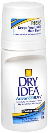 Dry Idea Advanced Dry Anti-Perspirant Deodorant Roll-On Unscented - 3.25 oz