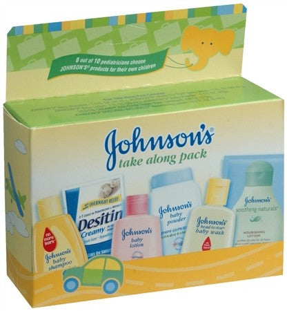 Johnson's Take-Along Pack - 1 ea