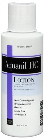 Aquanil HC Lotion - 4 oz