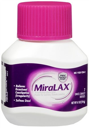 Miralax Laxative Powder - 4.1 oz