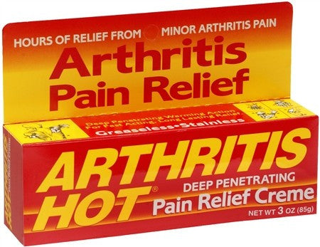 Arthritis Hot Pain Relief Creme - 3 oz