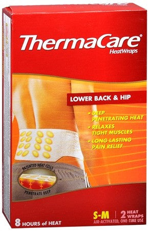 ThermaCare HeatWraps Lower Back & Hip - 2 ea