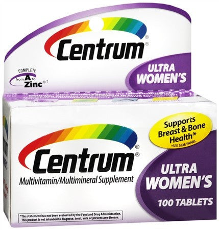 Centrum Women's Tablets - 120 tabs