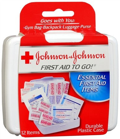 Johnson & Johnson Red Cross First Aid To Go Kit - 1 ea
