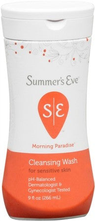 Summer's Eve Feminine Wash Sensitive Skin Morning Paradise - 9 oz