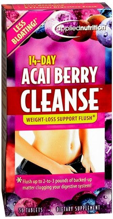 14-Day Acai Berry Cleanse Tablets - 56 tabs