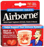 Airborne Effervescent Tablets Very Berry - 10 tabs