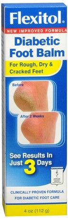 Flexitol Diabetic Foot Balm - 4 oz