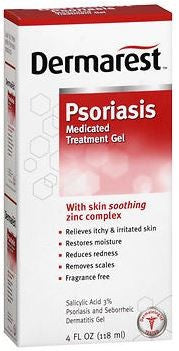 DERMAREST Psoriasis Medicated Gel - 4 oz