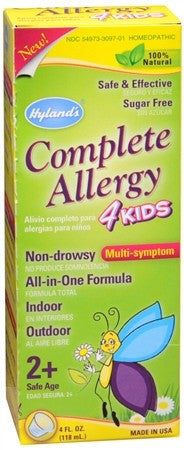 Hyland's Complete Allergy 4 Kids Liquid - 4 oz