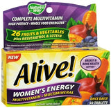Alive Multivitamin Multimineral Tablets Women's Energy - 50 tabs