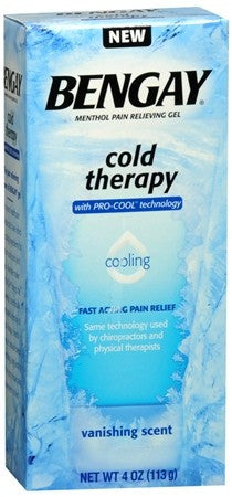 BENGAY Cold Therapy Pain Relieving Gel - 4 oz