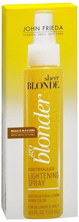 John Frieda Sheer Blonde Go Blonder Controlled Lightening Spray - 3.5 oz