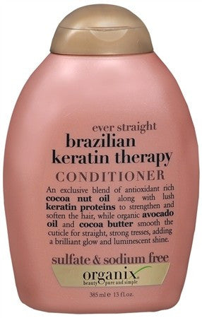 OGX Ever Straight Conditioner Brazilian Keratin Therapy - 13 oz