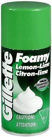 Gillette Foamy Shave Foam Lemon-Lime - 11 oz