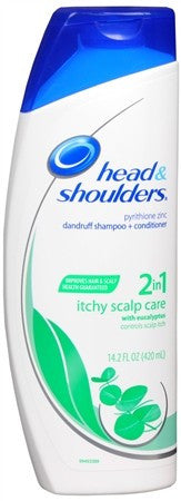 Head & Shoulders 2-in-1 Dandruff Shampoo + Conditioner Itchy Scalp Care - 13.5 oz