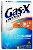 Gas-X Chewables Regular Strength Peppermint Creme - 36 tabs