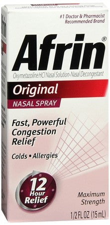Afrin Nasal Spray Original - 15 ml