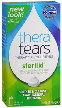 TheraTears SteriLid Eyelid Cleanser - 1.62 oz