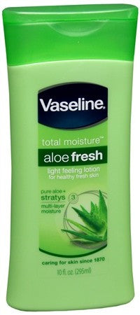 Vaseline Intensive Care Body Lotion Aloe Soothe - 10 oz