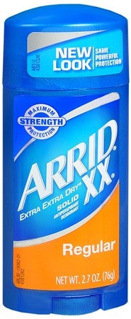 ARRID XX Antiperspirant Deodorant Solid Regular - 2.6 oz