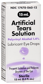 Akorn Artificial Tears Solution Eye Drops - 15 ml