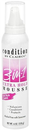 CONDITION 3-In-1 Mousse Extra Hold - 6 oz