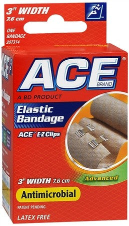 ACE Elastic Bandage with Clips 3 Inch - 1 ea