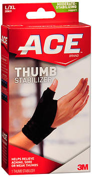 ACE Thumb Stabilizer L/XL Moderate Support - 1 ea