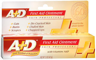 A+D First Aid Ointment Skin Protectant With Vitamin A&D 1.50 oz
