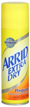 ARRID Extra Dry Antiperspirant Deodorant Spray Regular - 6 oz