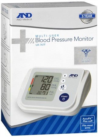 A&D Medical Multi-User Blood Pressure Monitor UB-767F - 1 ea