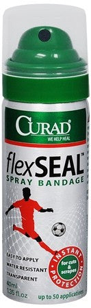 Curad FlexSeal Spray Bandage - 1.35 oz