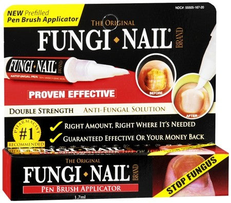 Fungi-Nail Toe & Foot Original Solution Pen Brush Applicator - 1.7 ml