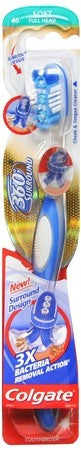 Colgate 360 Surround Toothbrush Full Head Soft - 1 ea