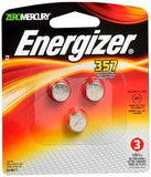 Energizer Watch/Electronic Batteries 357 - 3 ea