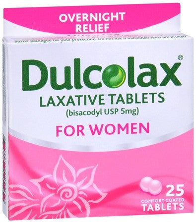 Dulcolax Laxative for Women Comfort Coated Tablets - 25 tabs