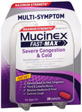 Mucinex Fast-Max Severe Congestion & Cold Caplets - 20 caps