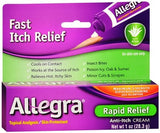 Allegra Cooling Relief Anti-Itch Cream - 1 oz