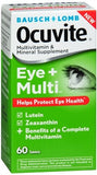 Bausch + Lomb Ocuvite Eye + Multivitamin & Mineral Supplement Tablets - 60 tabs