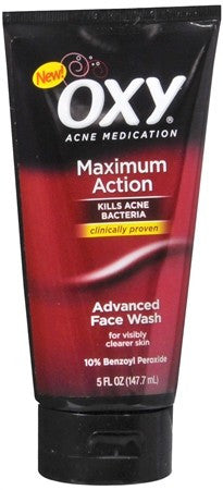 OXY Acne Medication Maximum Action Advanced Face Wash - 5 oz
