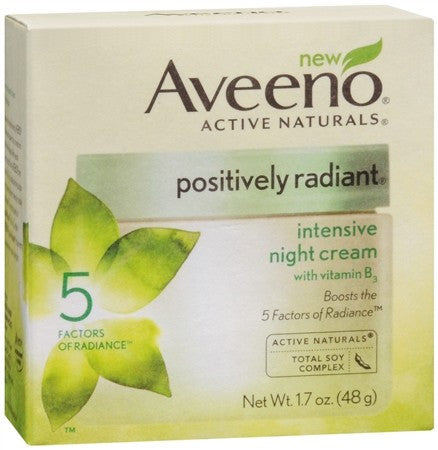 AVEENO Active Naturals Positively Radiant Intensive Night Cream - 1.7 oz