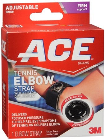 Ace Adjustable Knee Strap Black 209301 - 1 ea