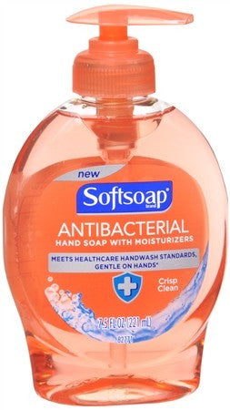 Softsoap Antibacterial Hand Soap Crisp Clean - 7.5 oz