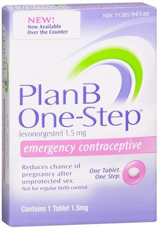 Plan B One-Step Emergency Contraceptive Tablet - 1 tabs