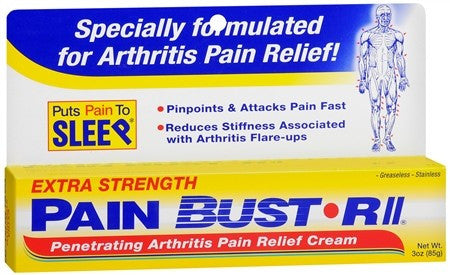 Pain Bust-R II Extra Strength Cream - 3 oz