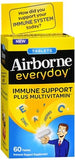 Airborne Everyday Immune Support plus Multivitamin Dietary Supplement Tablets - 60 tabs