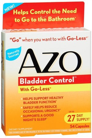 AZO Bladder Control Capsules - 54 caps