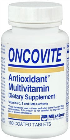 Oncovite Antioxidant Multivitamin Coated Tablets - 100 tabs