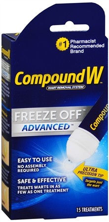 Compound W Freeze Off Advanced Wart Removal System - 15 ea